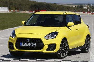 Suzuki SWIFT Sport esterni