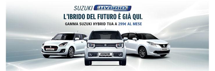 promozione suzuki rent hybrid