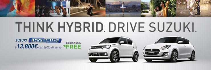 promozioni suzuki hybrid