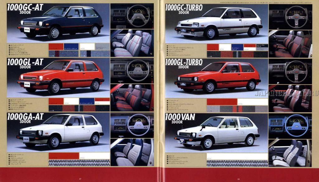Suzuki Cultus 1983
