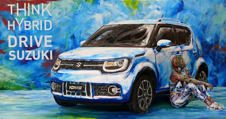 Suzuki Hybrid Art a Torino
