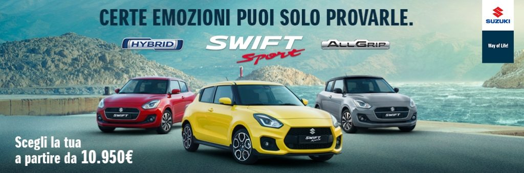 promozione suzuki swift