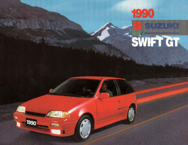 suzuki swift gti 1990