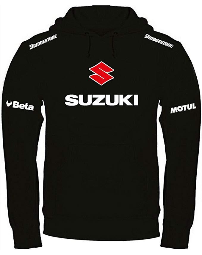 Felpa Suzuki nera