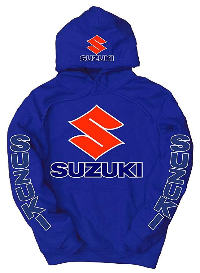 Felpa con logo Suzuki