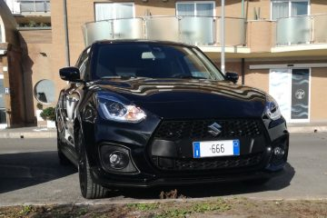 Swift sport black