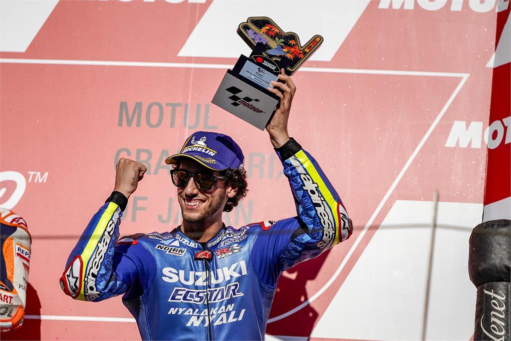 motogp 2018 alex rins podio