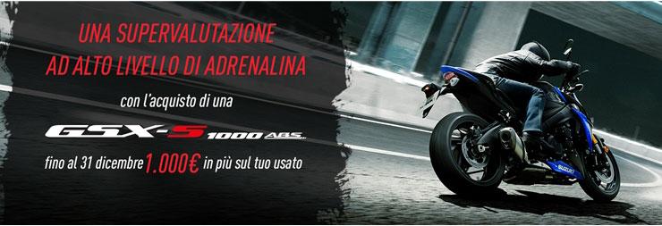 promozione moto gsx1000z