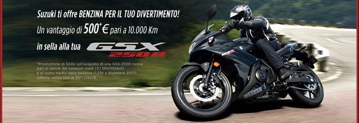 promozione suzuki gsx-250r