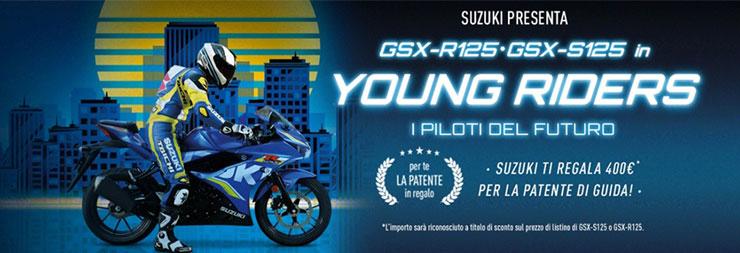 promozione suzuki young riders