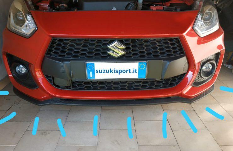 paraurti anteriore swift sport