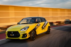 suzuki swift sport in pista