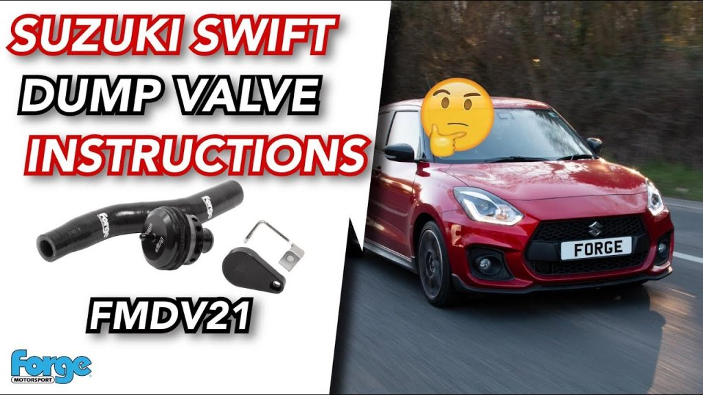 valvola pop-off Forge Suzuki Swift Sport