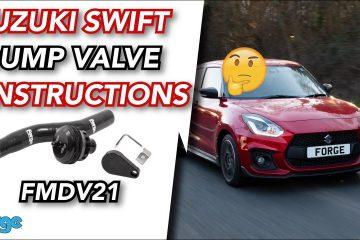 valvola pop-off Forge Suzuki Swift Sport