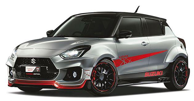 Suzuki Swift Sport Katana Edition 2020 concept