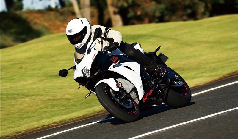 Suzuki GSX-R1000 white